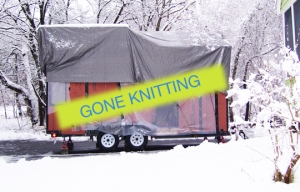 GONE KNITTING