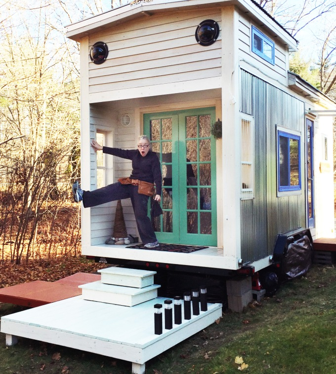 silver bullet tiny house Living the sustainable tiny life